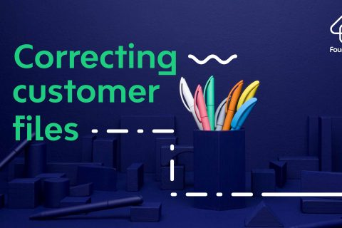 Correcting Customer Files 1