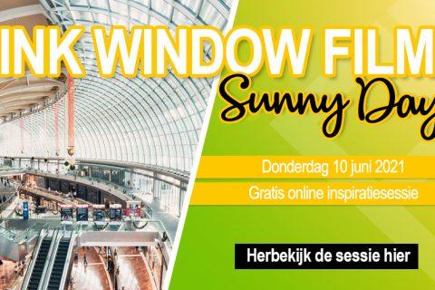 Vink Sunny Days - header mailing - herbekijk sessie - nl