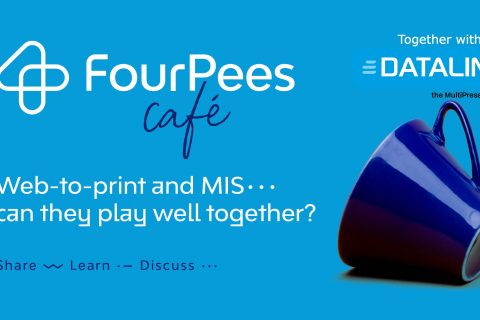 Web to print and MIS - can they play well together - dataline logo