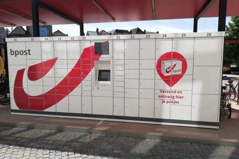 XL-Reklame-belettering-pakjesautomaat-Bpost-1